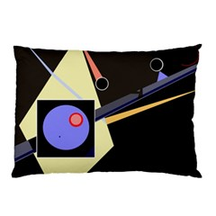 Construction Pillow Case (two Sides) by Valentinaart