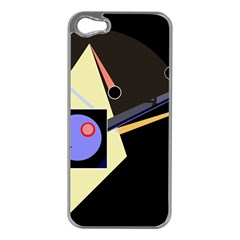Construction Apple Iphone 5 Case (silver) by Valentinaart