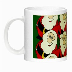 Did You See Rudolph? Night Luminous Mugs by Valentinaart