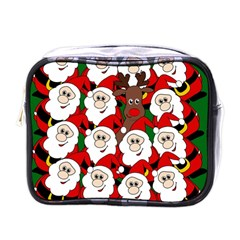 Did You See Rudolph? Mini Toiletries Bags by Valentinaart