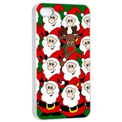 Did You See Rudolph? Apple Iphone 4/4s Seamless Case (white) by Valentinaart