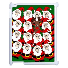 Did You See Rudolph? Apple Ipad 2 Case (white) by Valentinaart