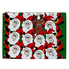 Did You See Rudolph? Cosmetic Bag (xxl)  by Valentinaart