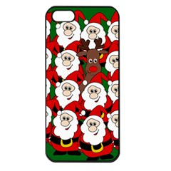 Did You See Rudolph? Apple Iphone 5 Seamless Case (black) by Valentinaart