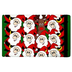 Did You See Rudolph? Apple Ipad 3/4 Flip Case by Valentinaart