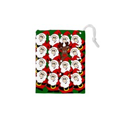 Did You See Rudolph? Drawstring Pouches (xs)  by Valentinaart