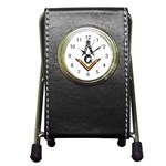 watch Pen Holder Desk Clock