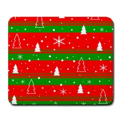 Xmas Pattern Large Mousepads by Valentinaart