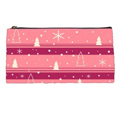 Pink Xmas Pencil Cases by Valentinaart