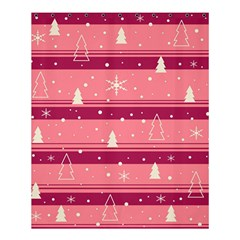 Pink Xmas Shower Curtain 60  X 72  (medium)  by Valentinaart
