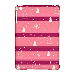 Pink Xmas Apple Ipad Mini Hardshell Case (compatible With Smart Cover) by Valentinaart