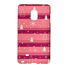 Pink Xmas Galaxy Note Edge by Valentinaart