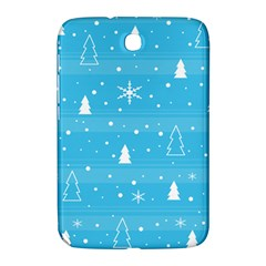 Blue Xmas Samsung Galaxy Note 8 0 N5100 Hardshell Case  by Valentinaart