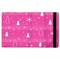 Magenta Xmas Apple Ipad 3/4 Flip Case by Valentinaart