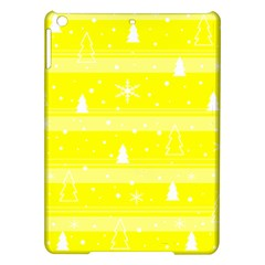 Yellow Xmas Ipad Air Hardshell Cases by Valentinaart
