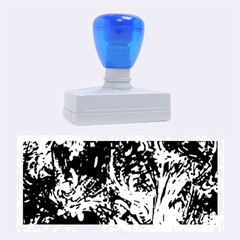 Hot Liquid Abstract A Rubber Stamps (large) by MoreColorsinLife