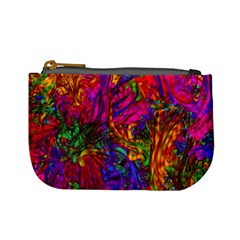 Hot Liquid Abstract B  Mini Coin Purses by MoreColorsinLife
