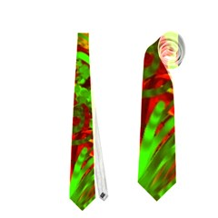 Hot Liquid Abstract C Neckties (one Side)  by MoreColorsinLife