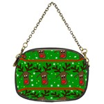 Reindeer pattern Chain Purses (Two Sides)  Front
