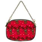 Reindeer Xmas pattern Chain Purses (Two Sides)  Front