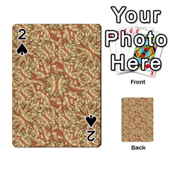 Geometric Bold Cubism Pattern Playing Cards 54 Designs  by dflcprints