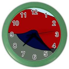 Decorative Design Color Wall Clocks by Valentinaart