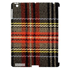 Fabric Texture Tartan Color  Apple Ipad 3/4 Hardshell Case (compatible With Smart Cover) by AnjaniArt