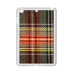 Fabric Texture Tartan Color  Ipad Mini 2 Enamel Coated Cases by AnjaniArt