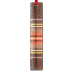 Fabric Texture Tartan Color  Large Book Marks by AnjaniArt