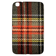 Fabric Texture Tartan Color  Samsung Galaxy Tab 3 (8 ) T3100 Hardshell Case  by AnjaniArt