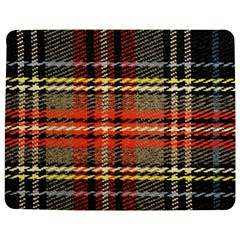 Fabric Texture Tartan Color  Jigsaw Puzzle Photo Stand (rectangular) by AnjaniArt