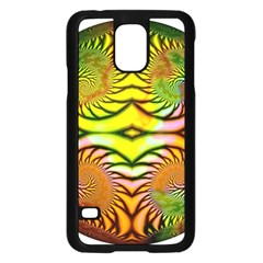 Fractals Ball About Abstract Samsung Galaxy S5 Case (black) by AnjaniArt