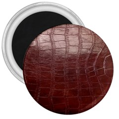Leather Snake Skin Texture 3  Magnets by AnjaniArt