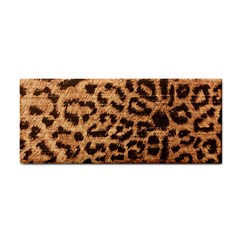 Leopard Print Animal Print Backdrop Hand Towel by AnjaniArt