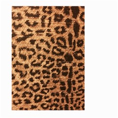 Leopard Print Animal Print Backdrop Large Garden Flag (two Sides) by AnjaniArt