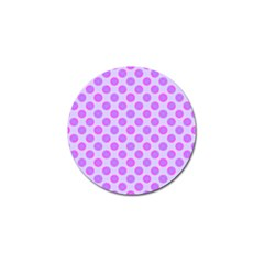 Pastel Pink Mod Circles Golf Ball Marker (10 Pack) by BrightVibesDesign
