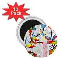 Happy Day 1 75  Magnets (10 Pack)  by Valentinaart