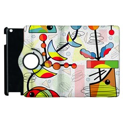 Happy Day Apple Ipad 2 Flip 360 Case by Valentinaart