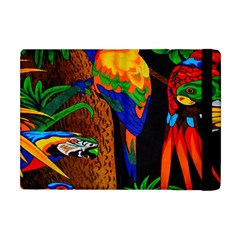 Parrots Aras Lori Parakeet Birds Apple iPad Mini Flip Case by AnjaniArt