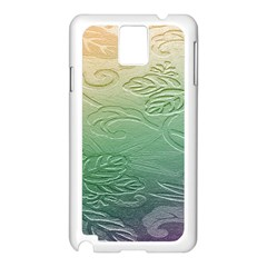 Plants Nature Botanical Botany Samsung Galaxy Note 3 N9005 Case (white) by AnjaniArt