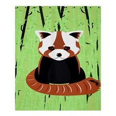 Red Panda Bamboo Firefox Animal Shower Curtain 60  X 72  (medium)  by AnjaniArt
