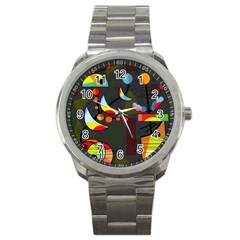 Happy day 2 Sport Metal Watch