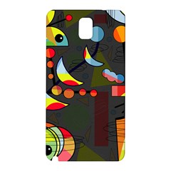 Happy Day 2 Samsung Galaxy Note 3 N9005 Hardshell Back Case by Valentinaart