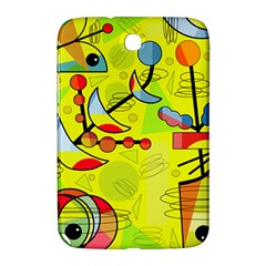 Happy Day   Yellow Samsung Galaxy Note 8 0 N5100 Hardshell Case  by Valentinaart