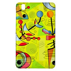 Happy Day   Yellow Samsung Galaxy Tab Pro 8 4 Hardshell Case by Valentinaart