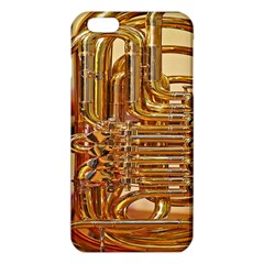 Tuba Valves Pipe Shiny Instrument Music Iphone 6 Plus/6s Plus Tpu Case by AnjaniArt
