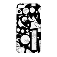 Happy day - black and white Apple iPod Touch 5 Hardshell Case