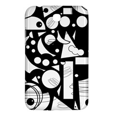 Happy Day   Black And White Samsung Galaxy Tab 3 (7 ) P3200 Hardshell Case  by Valentinaart