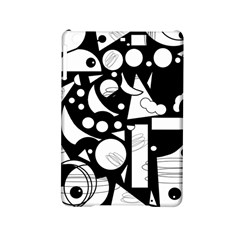 Happy Day   Black And White Ipad Mini 2 Hardshell Cases by Valentinaart