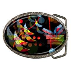 Magical Night  Belt Buckles by Valentinaart